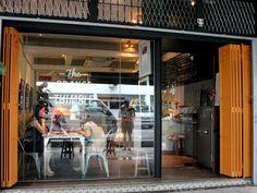 Orange Thimble Cafe near the Tiong Bahru markets