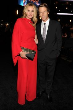 Julia Roberts and her husband Danny Moder