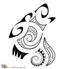 Tatuaggio di Lupo stile Maori, Serie Maori: TERRA tattoo - custom tattoo designs on TattooTribes.com