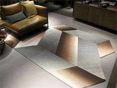 Milan Design Week 2013: Logenze Carpet by Ruckstuhl, designed by Patricia Urquiola