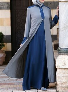 Double Layer Abaya - SHUKR International
