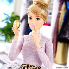 """@barbiestyle """"When it comes to your favorite color, don't be afraid to reapply! #barbie #barbiestyle"""""""