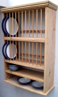 All About Kitchen Cabinets | Plate racks, Crown and Shelves