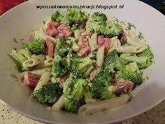 Sałatka brokułowa z makaronem