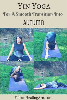 Yin Yoga for Autumn | Align with nature and slow down your life and yoga yoga practice with yin yoga | Practice this sequence as well as other daily rituals to adjust well to the change in season