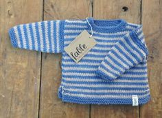 Hand Knitted Unisex Baby Jumper Wool and Silk  Blue & by fablebaby, $89.00 12-18 months size