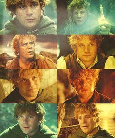 Fav Hobbit. Samwise Gamgee besides Frodo. Sam had some of the best lines ever written. And his speech at the end of Two Towers....makes me cry! And he's just overall sweet and caring for Frodo, who he watches out for like a big brother and respects and looks up to like a little brother.
