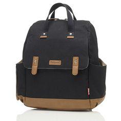 Βρεφική τσάντα αλλαξιέρα-σακίδιο πλάτης Babymel Robyn Black