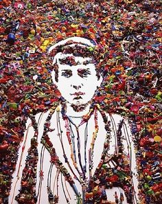 VIK MUNIZ http://www.widewalls.ch/artist/vik-muniz/ #contemporary #art #environmentalart