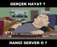 Bazı Gamerlar... #gamer #funny #memes #caps #komik #oyuncu #southpark