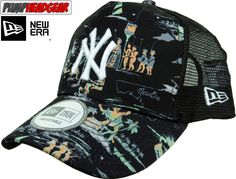 5ec295e6d97 New Era Offshore MLB NY Yankees Black Trucker Cap
