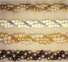 Make the Ribbons Pearl Bracelet just the way you want it.  Materials & instructions available in store or online