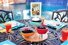 """DIY Tutorial: """"Mini Charcoal Grill Trio"""" Centerpiece // Hostess with the Mostess® Make Do And Mend, Crafts To Make And Sell, Barbecue Grill, Summer Diy, Summer Crafts, Mini Charcoal Grill, Diy Craft Projects, Diy Crafts, Grill Party"""