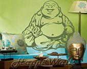 Laughing Lucky Buddha Wall
