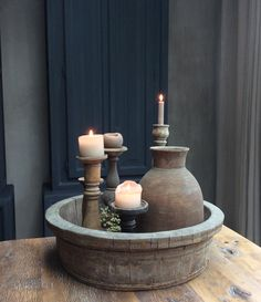 🌟Tante S!fr@ loves this📌🌟Rust en tiek Interior Design Inspiration, Home Decor Inspiration, Ancient Buildings, Candle Centerpieces, Candles, Rustic Elegance, Rustic Charm, Rustic Interiors, Beautiful Space