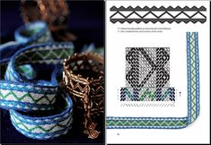 Applesies and Fox Noses - Finnish Tabletwoven Bands | Salakirjat - for when I want to tablet weave on my inkle loom.