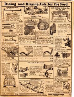 Model T Ford Forum: Circa. 1919 Sears Auto Parts catalog/leaflet (entire catalog) Auto Parts Catalog, Dollhouse Miniatures, Ford, Model, Vintage, Doll House Miniatures, Scale Model, Vintage Comics