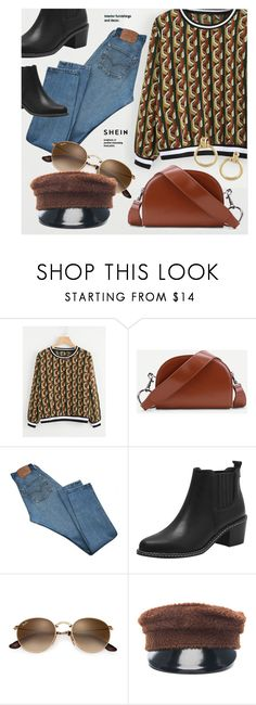 """""""A Week In Paris"""" by monmondefou ❤ liked on Polyvore featuring Levi's and Ruslan Baginskiy"""