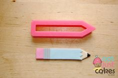 Pencil or Crayon Cutter by NotJustCakesbyAnnie on Etsy, $6.00