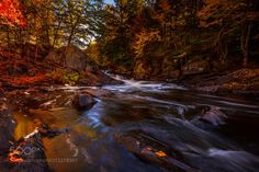 The Rapids - This was taken last fall at Oxtongue River-Ragged Falls in Huntsville Ontario. A short trail leads from the parking lot to a lookout of the thundering white water falls. Hope you like it! Enjoy!