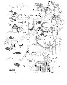 Maps (ongoing) - Sarah Burwash