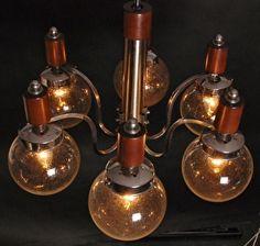 Vintage hanglamp Italië