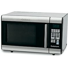 @Overstock.com - Cuisinart CMW-100 Stainless Steel 1 Cubic Foot Microwave Oven - Capacity: One (1)cubic-footMotor: 1000-wattsMaterials: Metal, glass, plastic, electronic  http://www.overstock.com/Home-Garden/Cuisinart-CMW-100-Stainless-Steel-1-Cubic-Foot-Microwave-Oven/6401854/product.html?CID=214117 $179.00
