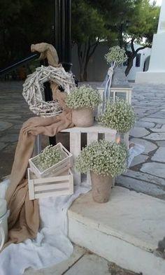 Boho Wedding, Wedding Ceremony, Rustic Wedding, Wedding Flowers, Baptism Decorations, Church Wedding Decorations, Floral Arrangements, Wedding Planning, Wedding Inspiration