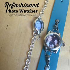 Refashioned Photo Watches