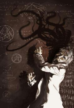 """""""If I am mad it is mercy. May the gods pity the man who in his callousness can remain sane to the hideous end. Lovecraft- via QuotesPorn on September 06 2019 at Hp Lovecraft, Lovecraft Cthulhu, Cthulhu Art, Call Of Cthulhu Rpg, Arte Horror, Horror Art, Necronomicon Lovecraft, Lovecraftian Horror, Eldritch Horror"""