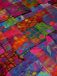 Grade 6 Wall Hangings by studiofelter, via Flickr