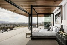 A Luxury Residential Development With Distant Views Of Las Vegas