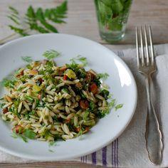 In de keuken: Griekse pasta met knoflook en kruiden