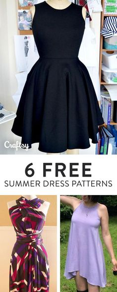 How to sew a super-easy gathered jersey knit skirt | Sewing ...