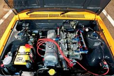 #SWengines Datsun 510.Engine Type : I4 1595 cc