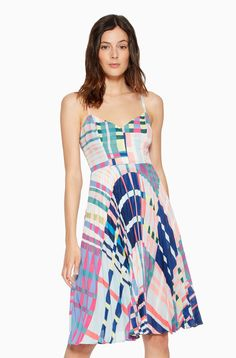 Parker New York Magna Dress - Lorca 6 Parker Ny, Dress Outfits, Fashion Dresses, Full Skirts, Cropped Pants, Pleated Skirt, Summer Dresses, Clothes For Women, Trending Outfits