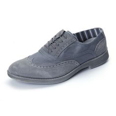Vinci Shoes Charcoal now featured on Fab.