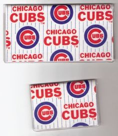 Checkbook Cover Debit Set Made with MLB Chicago Cubs Fabric . $150.00. This is not a licensed Product. It is however hand-craftedwith care from licensed fabrics. We are not affiliated with the licensee or the manufacturer of the licensed product.   Why carry the SAME Checkbook Cover that everyone at your   bank has? Be unique and have some personal style!  Handcrafted Fabric Checkbook Cover and Debit Check Card ID   Holder Set. Checkbook Cover is a lightweight but sturdy ...