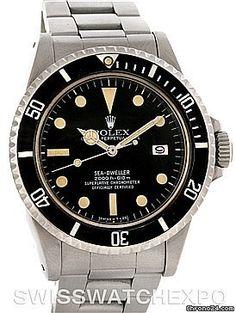 Rolex Seadweller Great White Vintage Mens Watch 1665