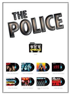 Album Art Icons: The Police
