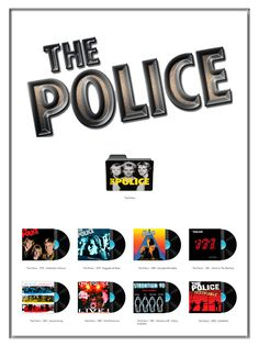 Album Art Icons: The Police