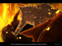 Ashfur  should have gone to the dark forest. He was with Tigerstar  and Hawkfrost  to kill Firestar  in a fox trap!!!!!
