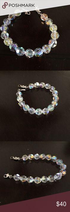 Bracelet from Swarovski store Swarovski crystal large beaded bracelet. Bought the from Swarovski store Swarovski Jewelry Bracelets