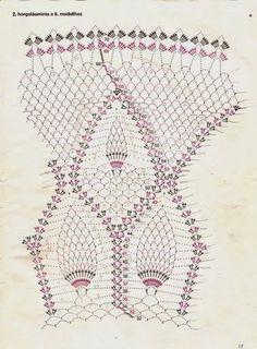 Crochet e artes: Toalha de abacaxi