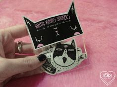 Witchy Kittens Stickers                                                                                                                                                                                 Mais