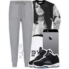 Awesome Outfits With Jordans rest in paradise | 1 - 13 - 14, created by mindlesslyamazing-143 on Polyvore.......