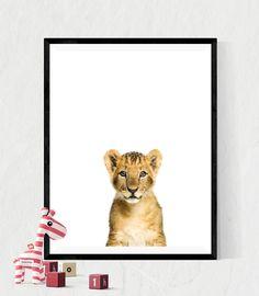 Animal Prints, animal photo, Animal wall art, Nursery art, nursery décor, nursery quotes, modern nursery, nursery artwork, lion cub