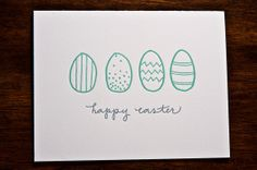 this inkmeetspaper letterpress card is just asking to be colored on (within the lines, of course!)