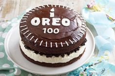 Chocolate-Covered OREO Celebration Cake Recipe