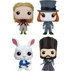 Funko - Alice: Through the looking glass Collectors Set POP! Vinyl Figures - Muti-colored